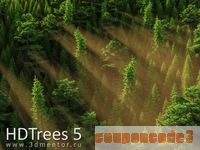 cheap HDTrees 5 for 3ds Max